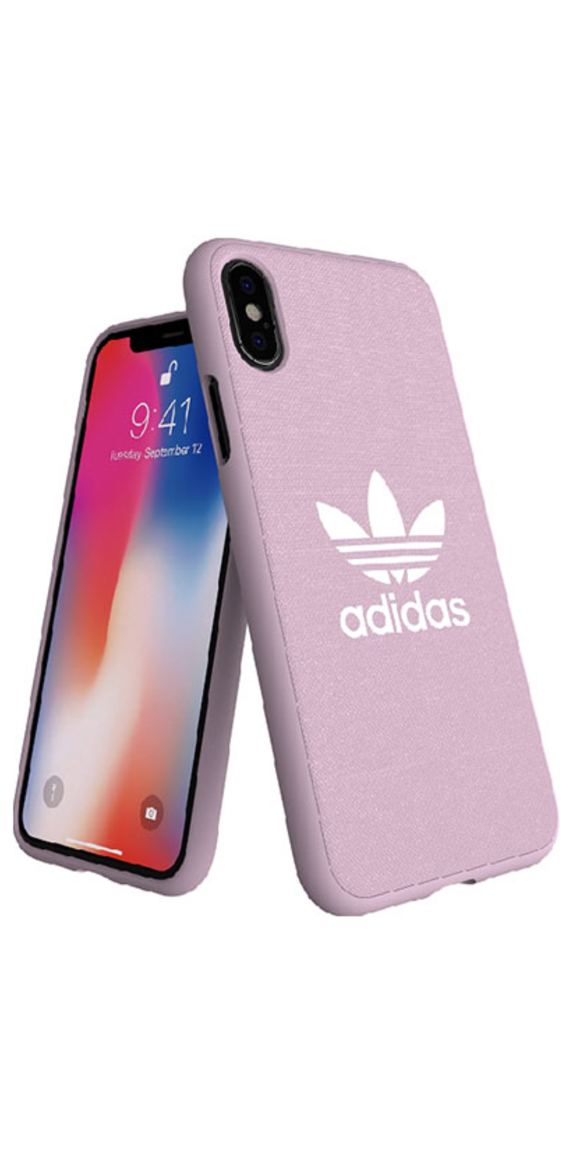 miglior sito web 1c7a5 92fe7 Cover COVER ADIDAS CASE IPHONE X/XS PINK   Design My Cover